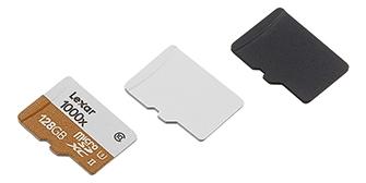 Micro SD卡 側噴白烤漆